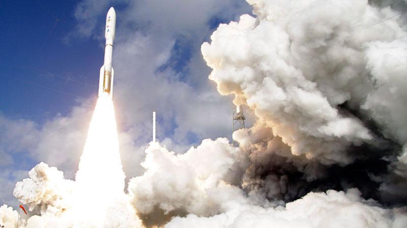 """""""Cỗ máy trong mơ"""" của Mỹ bay lên sao Hỏa"""