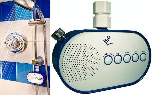Radio chạy bằng nước đầu tiên trên thế giới