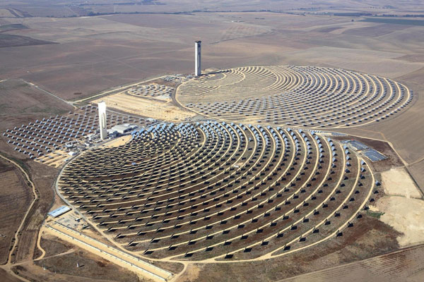 Mỹ xây dựng tháp điện Mặt Trời cao nhất thế giới