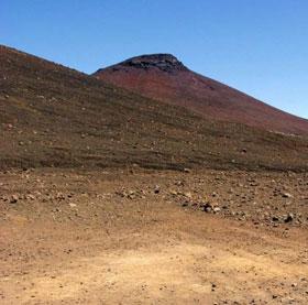 Đất trên sao Hỏa giống đất ở quần đảo Hawaii