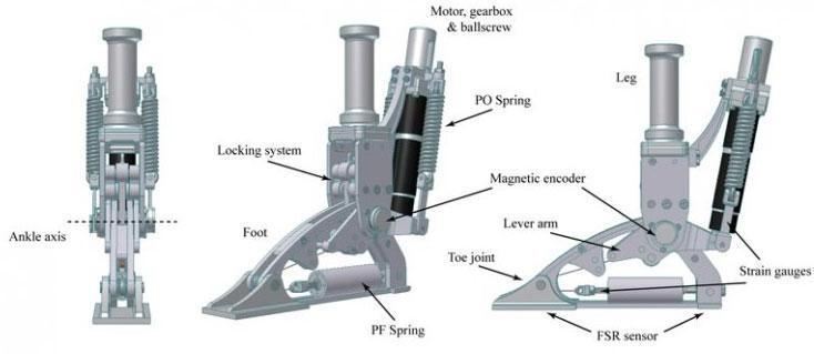 Bàn chân Robot mô phỏng hoàn thiện chuyển động của con người