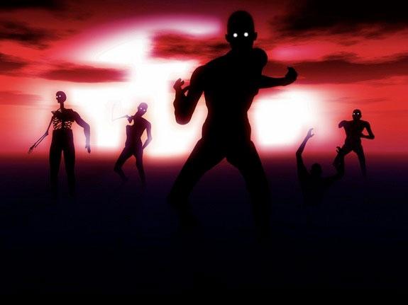Các zombie.