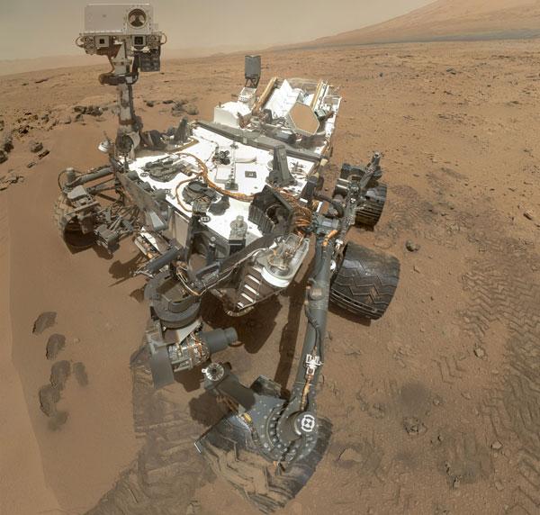 Tàu thăm dò Curiosity không tìm thấy khí mê tan trên sao Hỏa.
