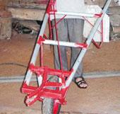 Máy nhổ lạc và hạt tiêu của nông dân học hết lớp 7