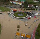 Mưa lớn gây lũ lụt và sạt lở nghiêm trọng ở Slovenia