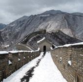 Du khách Nhật chết vì bão tuyết Vạn lý trường thành