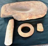 Phát hiện nhóm hiện vật 5.000 năm tuổi của người nguyên thủy