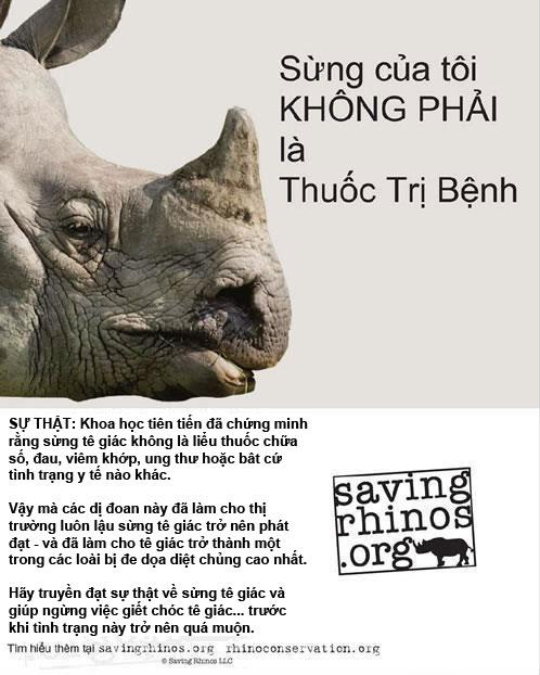 Chiến dịch bảo vệ tê giác
