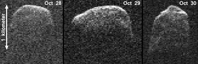 2007 PA8 trong tầm ngắm của kính thiên văn vô tuyến