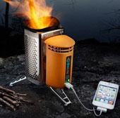 Video: Bếp lò có thể sạc pin điện thoại di động