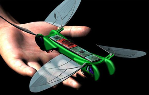 Robot chuồn chuồn theo phiên bản dân sự của TechJet