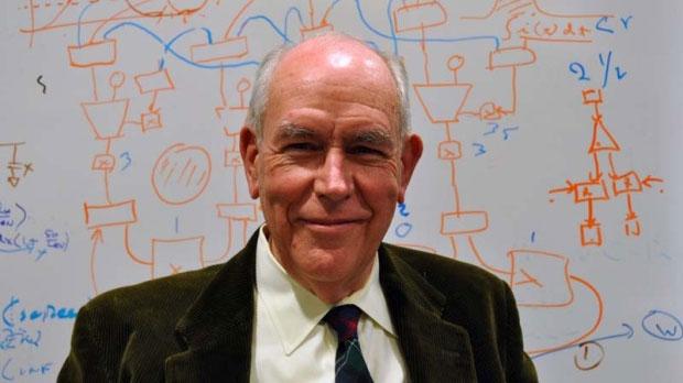 Nhà khoa học Ivan Sutherland (Mỹ), 74 tuổi, một trong ba nhà khoa học đoạt giải Kyoto 2012.