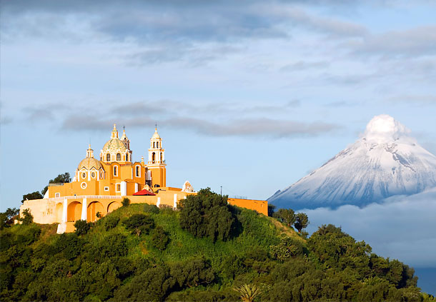 Kim tự tháp Cholula, Puebla, Mexico
