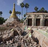 100 người thương vong trong động đất ở Myanmar