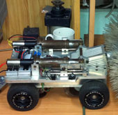 Chế tạo thành công robot thông đường ống