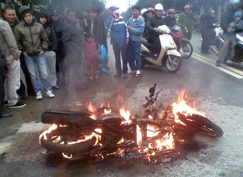 Nguyên nhân chính dẫn đến cháy nổ các phương tiện thời gian qua chưa được xác định.