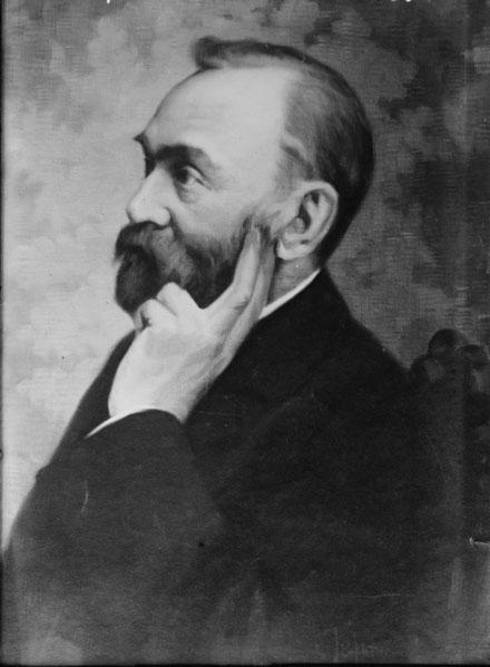 Tiến sĩ Alfred Nobel, người phát minh thuốc nổ dynamite.