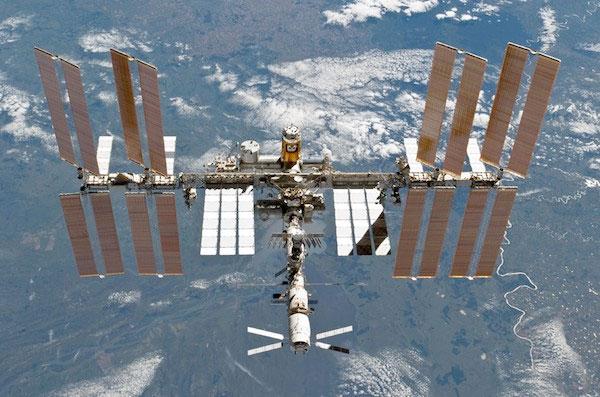 Trạm vũ trụ quốc tế ISS.