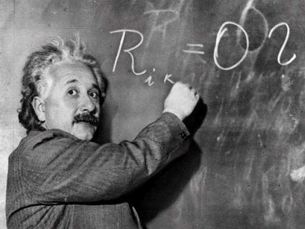 Nhà bác học Albert Einstein.
