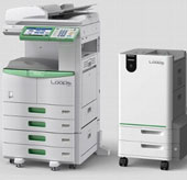 Loops - máy photocopy tự tái chế giấy