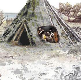 Phát hiện nhà cổ nhất Scotland có niên đại 10.000 năm