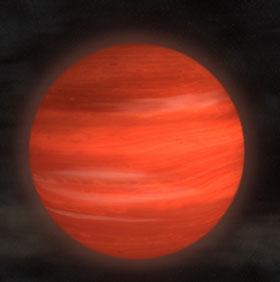 Phát hiện một hành tinh mới lớn hơn 13 lần sao Mộc