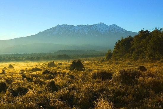 Núi lửa Ruapehu phun trào lần cuối vào năm 2007.