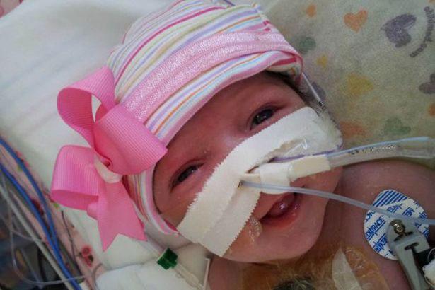 Audrina đã hồi phục sau cuộc phẫu thuật đưa tim trở lại cơ thể.