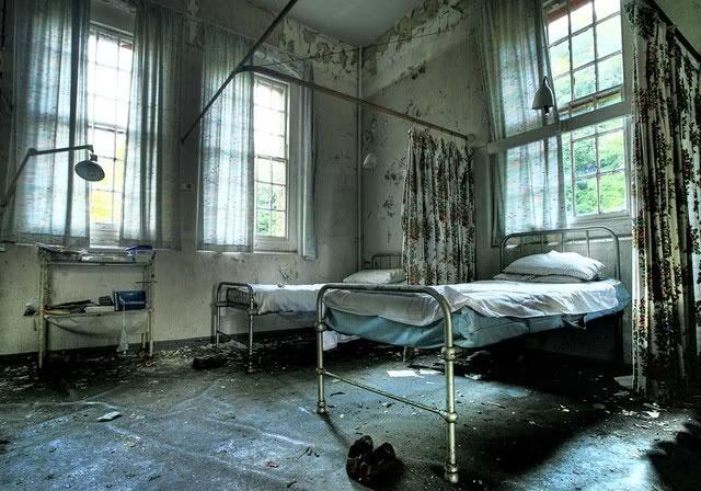 Nhà thương điên bỏ hoang ở Anh