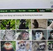 Nhận diện động vật hoang dã trực tuyến