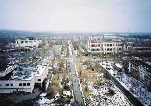 Thị trấn ma Pripyat