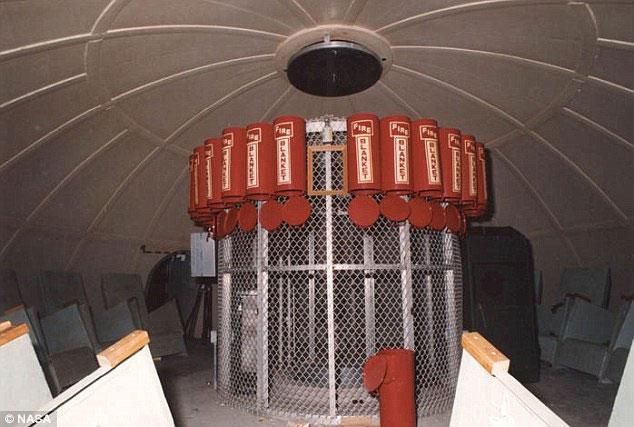 Hầm trú ẩn có thể chứa đến 20 người