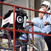 Nhật Bản: Robot kháng phóng xạ gặp sự cố