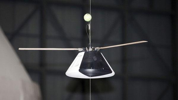 Thiết bị tàu không gian mới được trang bị cánh quạt của NASA.