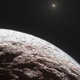 Hành tinh Makemake không có khí quyển như mong đợi