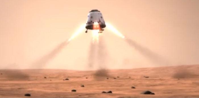 Loại tên lửa mới MCT sẽ phóng tàu vũ trụ đưa 800.000 người chứ không phải tên lửa Dragon