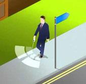 Video: Thiết bị giúp người mù đi xe đạp