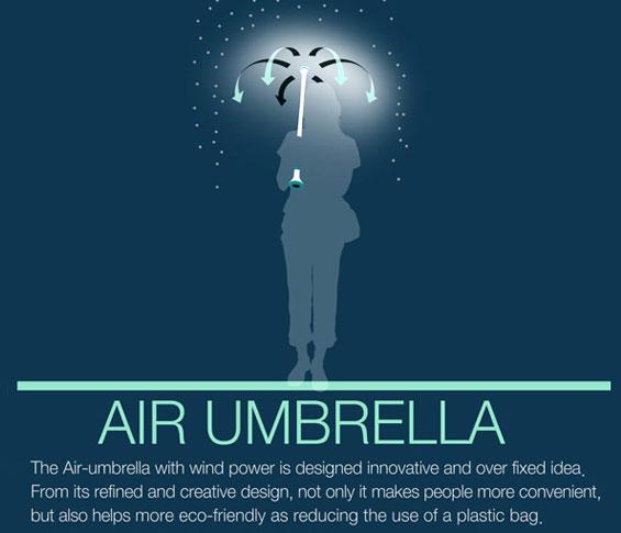 Ý tưởng về dù không khí