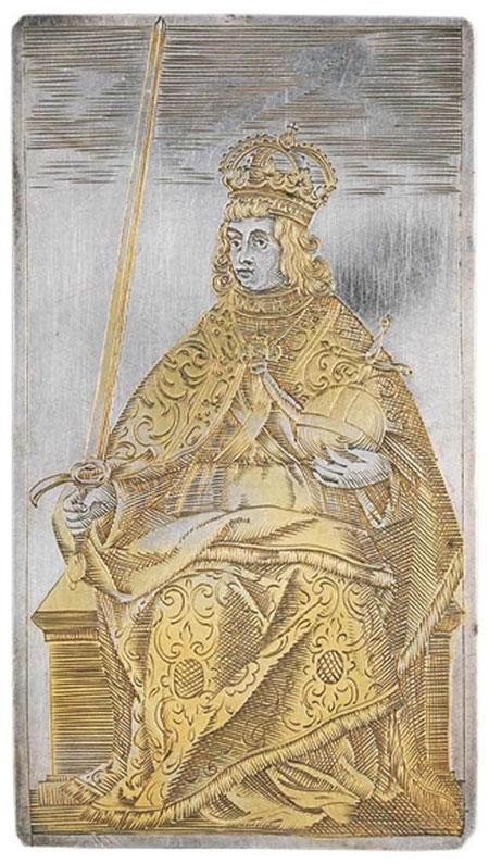 Bộ bài trên đã Michael Frommer tạo ra tạ Đức vào năm 1616