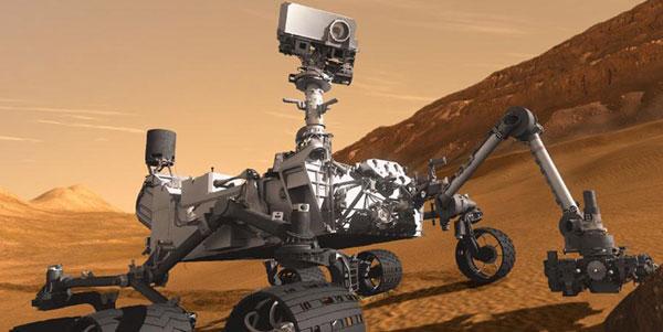 Tàu Curiosity tìm thấy phân tử hữu cơ trên sao Hỏa