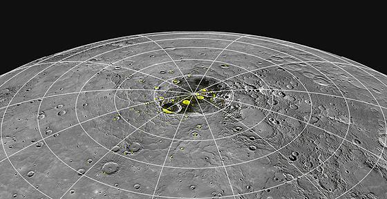 Nguồn gốc của băng và các chất hữu cơ trên Sao Thủy