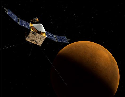 NASA sắp phóng tàu nghiên cứu khí quyển sao Hỏa