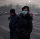 Nhật báo động ô nhiễm không khí nghi từ Trung Quốc