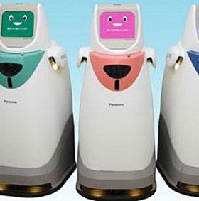 Robot HOSPI-R giúp y tá phân phát thuốc