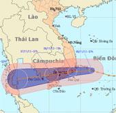 Chiều nay, áp thấp mới áp sát Nam Trung Bộ, Nam Bộ