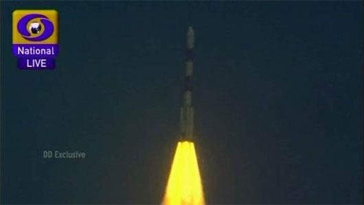 Ấn Độ đã phóng thành công tàu vũ trụ lên sao Hỏa