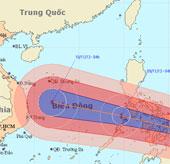 Siêu bão Haiyan tiến vào biển Đông