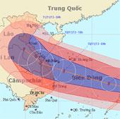 Siêu bão Haiyan sắp đổ bộ Phillippin