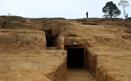 Phát hiện 600 mộ cổ niên đại hàng ngàn năm