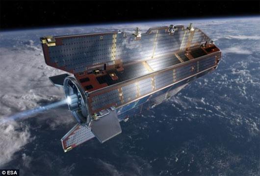 Vệ tinh nặng 1 tấn chuẩn bị rơi xuống Trái Đất